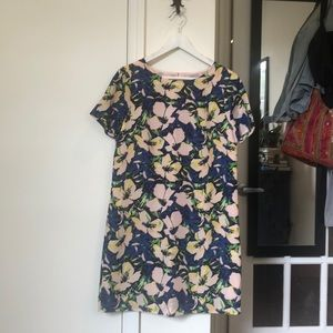 J Crew Floral Shirt Dress